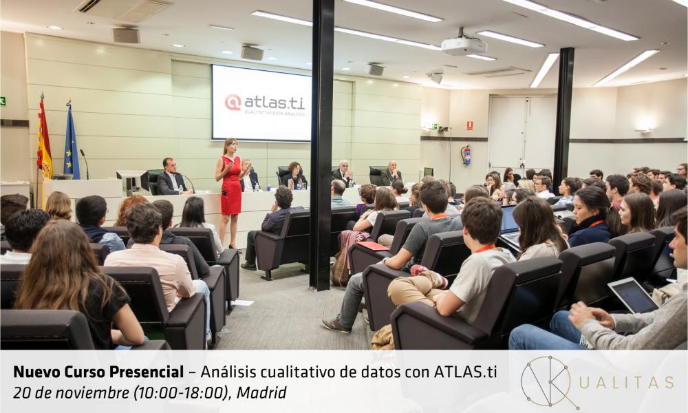 Curso Presencial de ATLAS.ti en Madrid (20 de Noviembre)