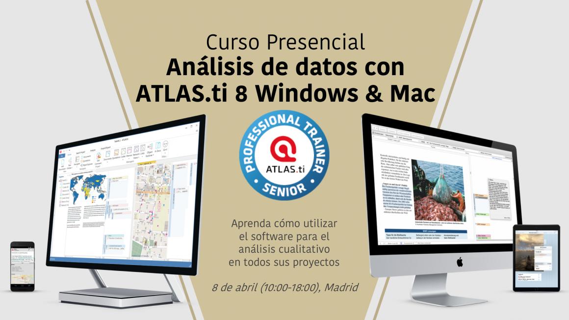 Curso Presencial ATLAS.ti 8 de abril